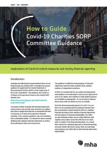 Guidance from SORP for preparing statutory financial statements and year-end processes, post-Covid-19.