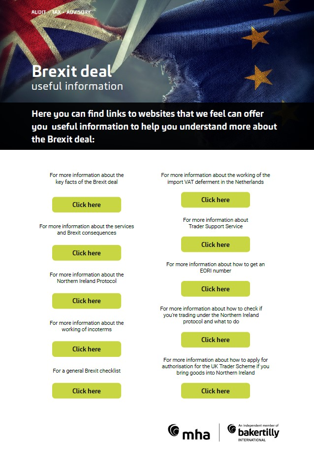 Brexit Deal – useful information