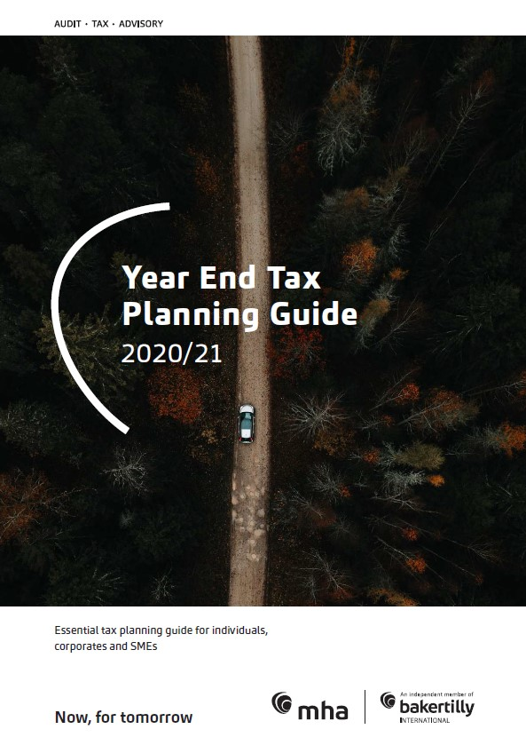 Year End Tax Planning Guide 2020/21