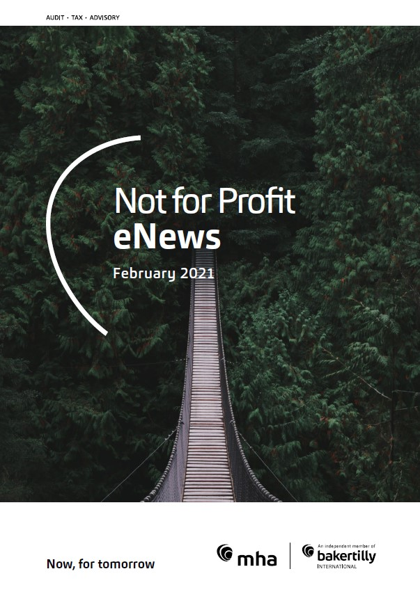 NFP eNews – February 2021