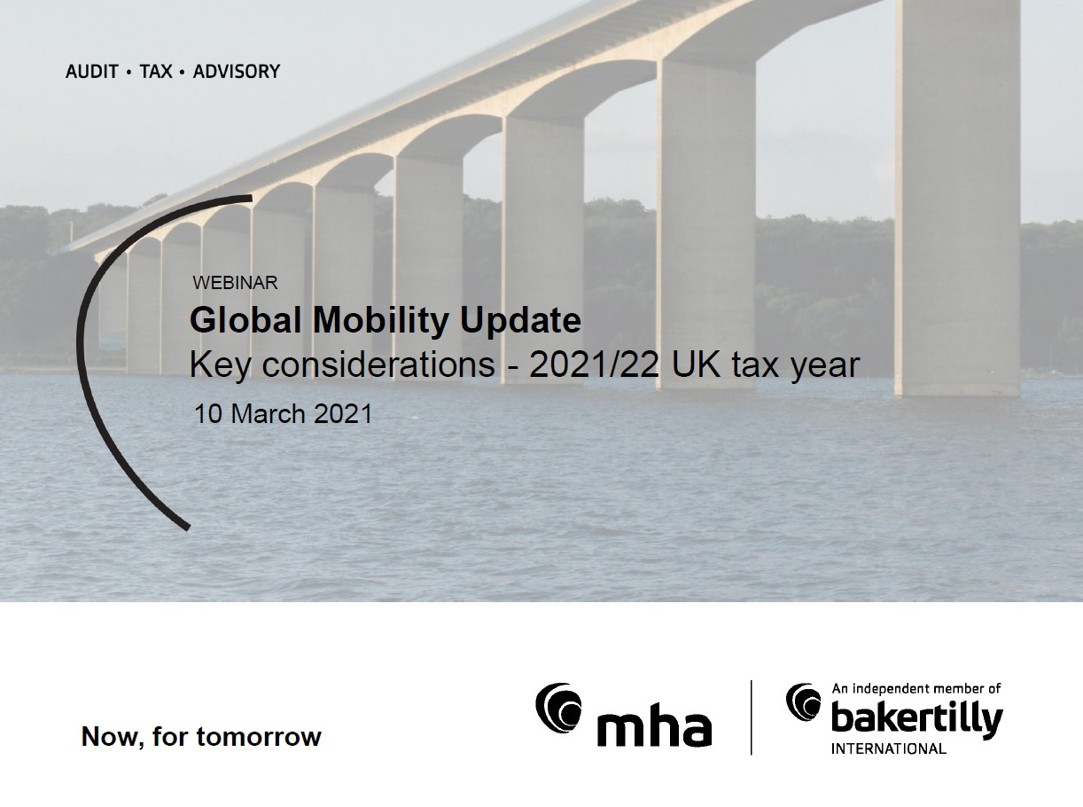 Global Mobility Update – Key considerations -2021/22 UK tax year