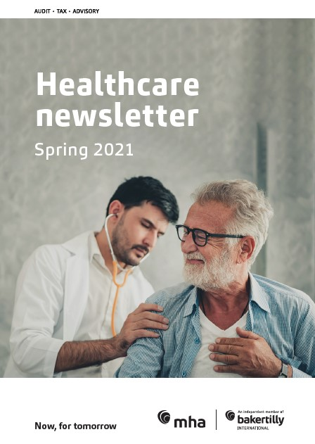 Healthcare newsletter – Spring 2021