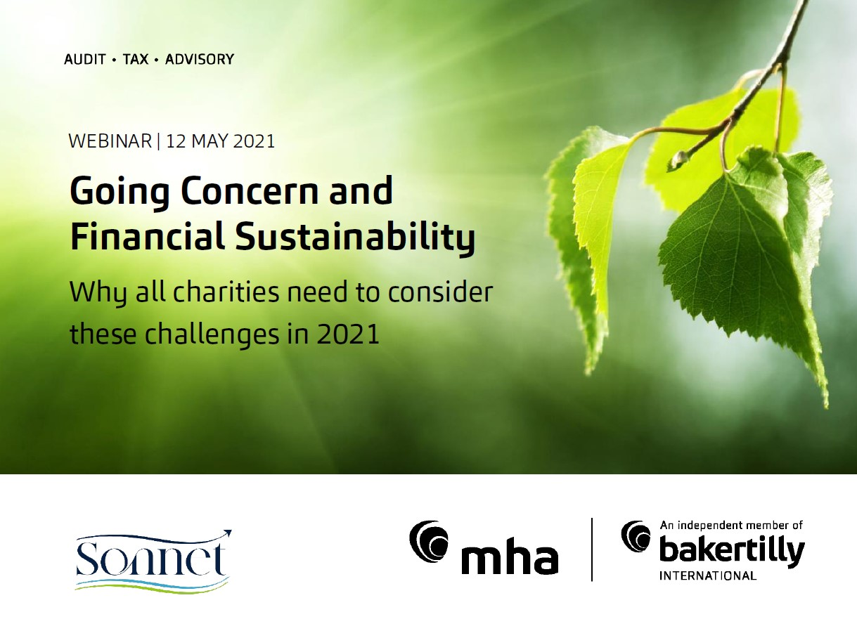 Going Concern & Financial Sustainability in Charities
