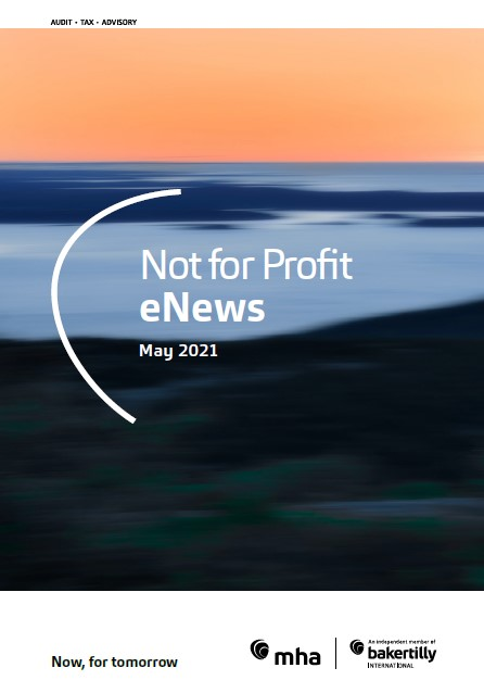 Not for Profit eNews – May 2021