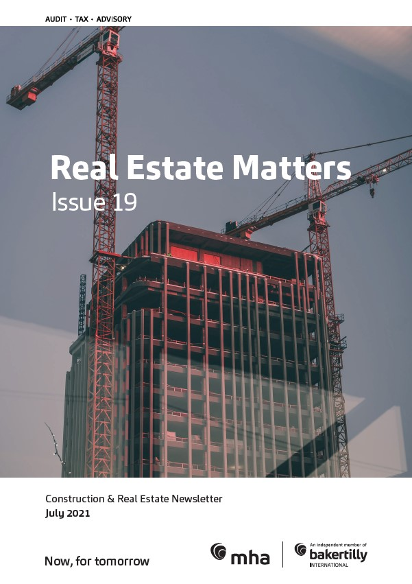 Real Estate Matters – Issue 19
