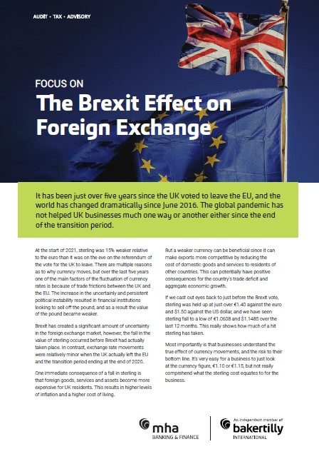 Focus on – The Brexit Effect on Foreign Exchange